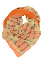 Laden Sie das Bild in den Galerie-Viewer, Silk Scarf Check