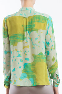 Blouse Collar Yellow