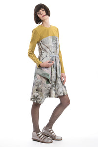 Changeable Dress Grey-Yellow