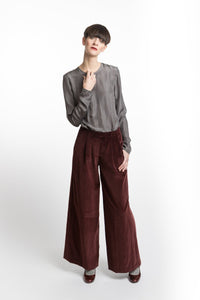 Marlene Pants Red Velvet