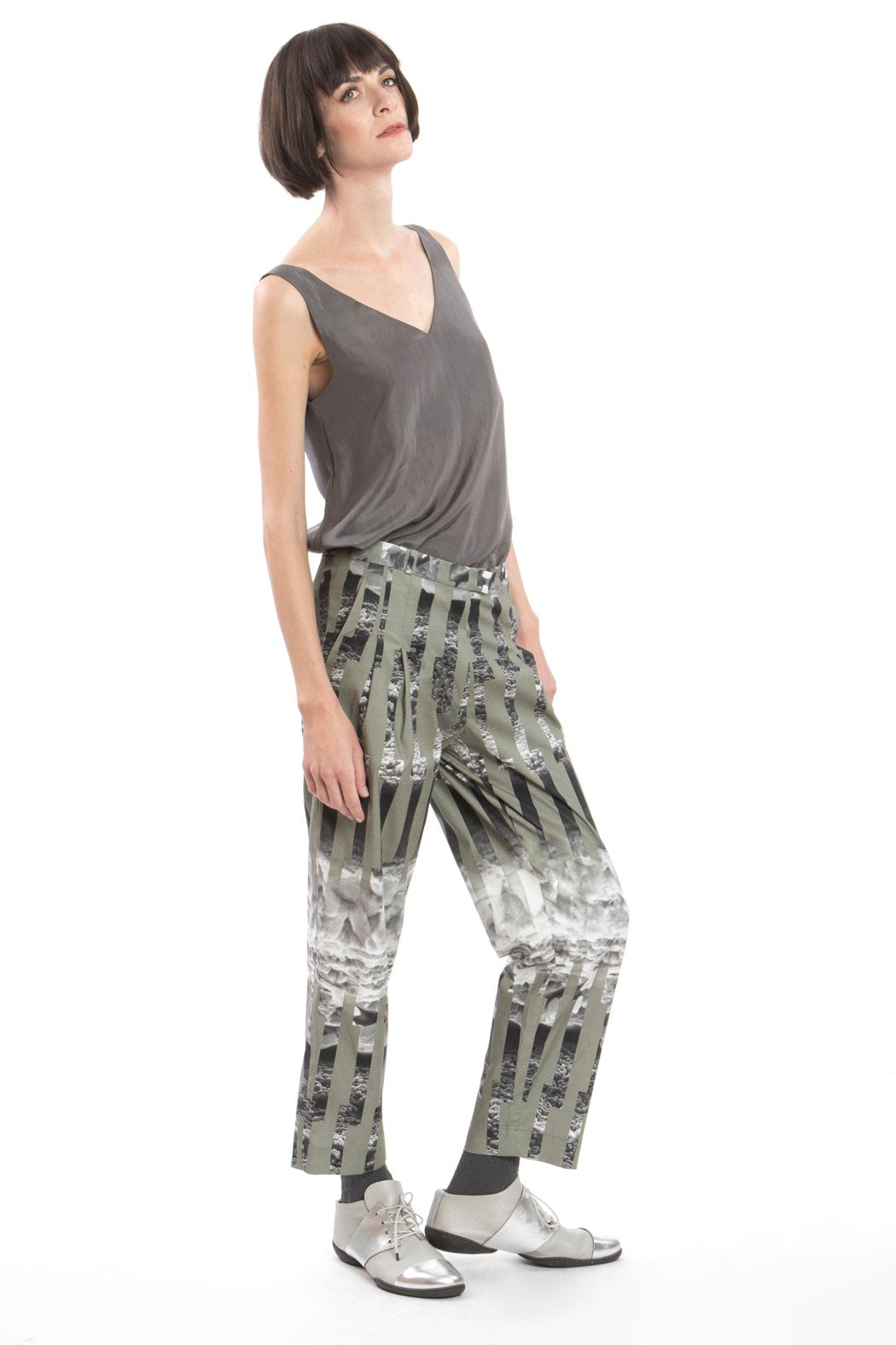Trousers Ice Crystal Green