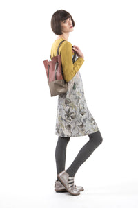 Dress Slim Flower-Yellow