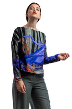 Laden Sie das Bild in den Galerie-Viewer, Longsleeve Shirt Printed Dark