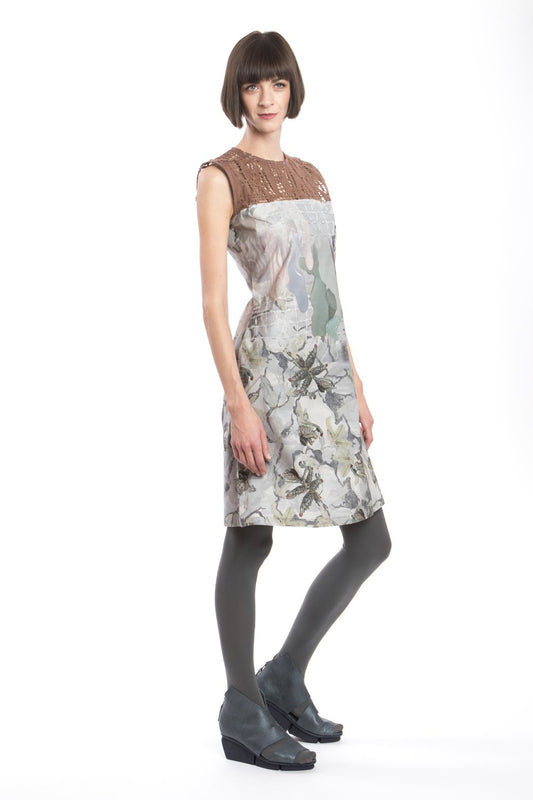 Dress Slim Flower-Net