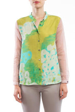 Laden Sie das Bild in den Galerie-Viewer, Blouse Yellow Pink