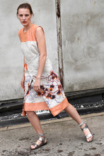 Laden Sie das Bild in den Galerie-Viewer, Orange summer Dress