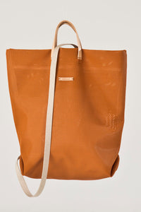 Shopper Orange Backpack by Hänska
