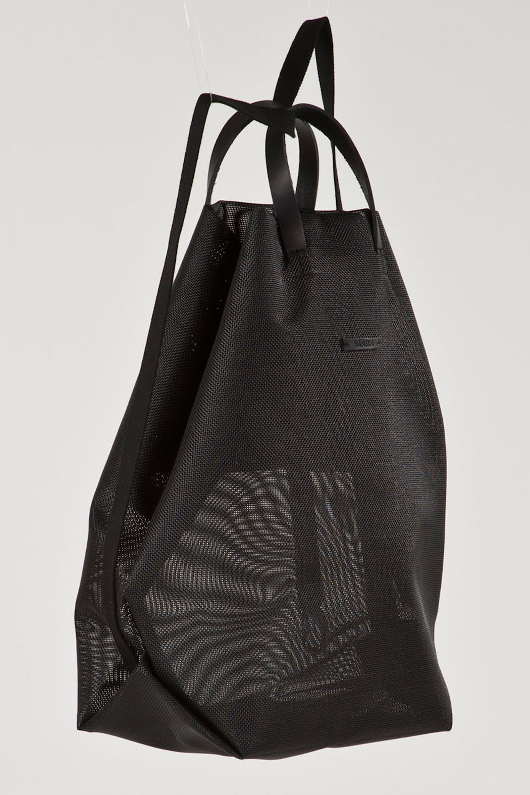 Black Rucksack Shopper by Hänska