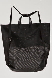 Moire Shopper and Backpack Mesh