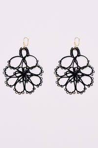 Flower Earrings Swarovsky LILY