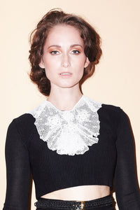 Zaide Cicek Collar Black