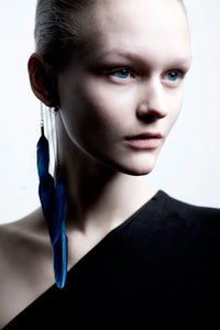 Dark Blue Ear Cuff