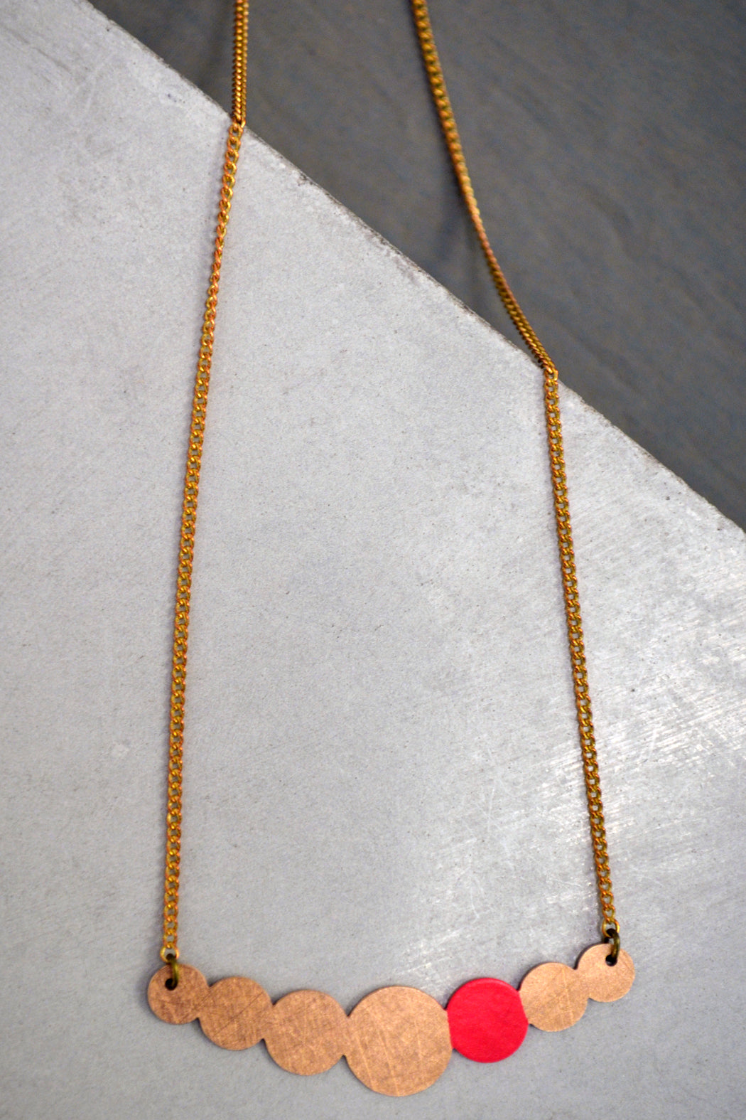 Circle Collier Necklace