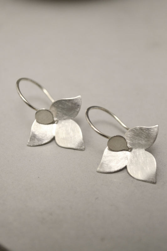 Minimalistic Silver Earrings