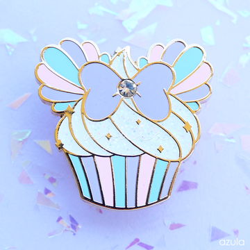 MERMAID CUPCAKE ✦ ENAMEL PIN