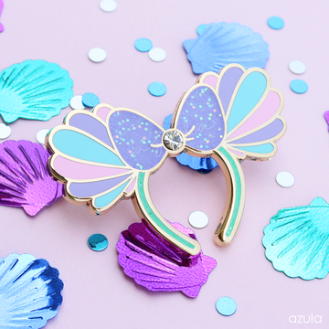MERMAID EARS ✦ ENAMEL PIN