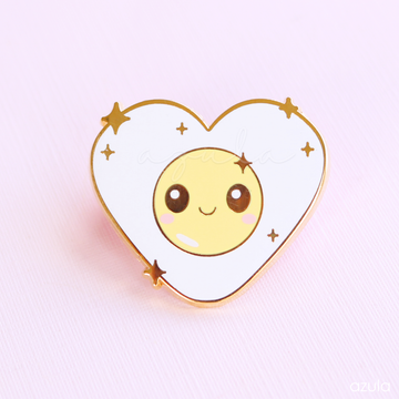 I LOVE EGGS ✦ ENAMEL PIN