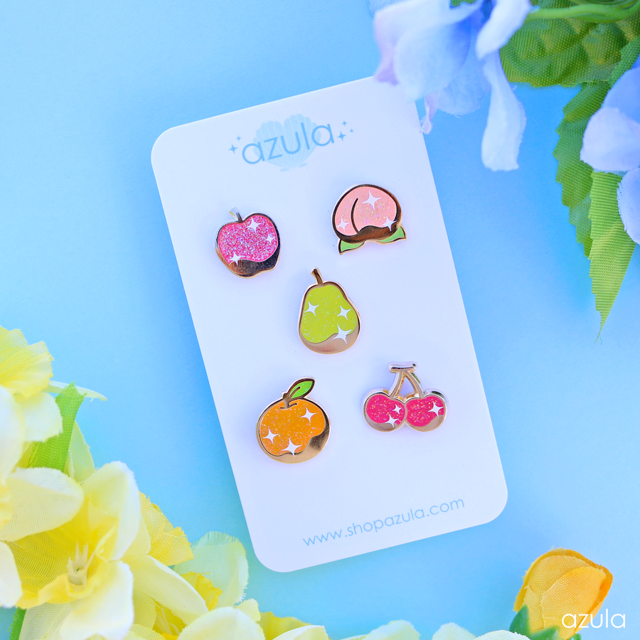 PERFECT FRUIT ✦ ENAMEL PIN SET