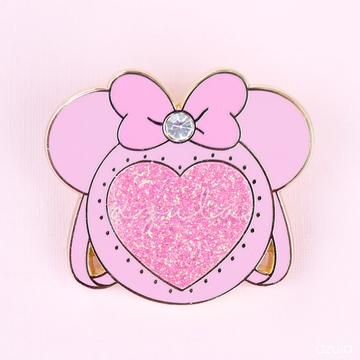 PINK MINNIE ITA BAG ✦ ENAMEL PIN