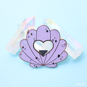 PURPLE SEASHELL ✦ BOTTLE OPENER