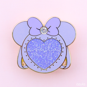 PURPLE MINNIE ITA BAG ✦ ENAMEL PIN