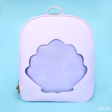 LILAC MERMAID SHELL ✦ ITA BACKPACK