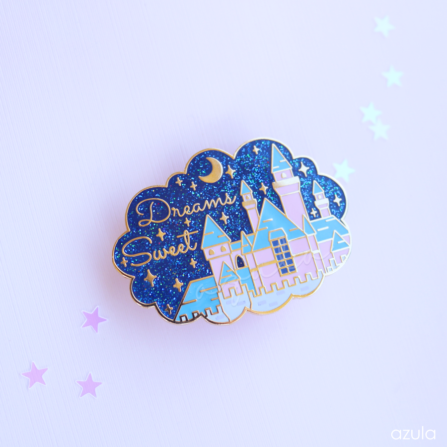 SWEET DREAMS CASTLE ✦ ENAMEL PIN
