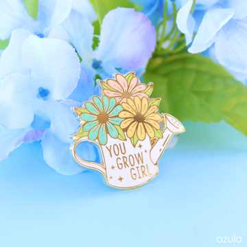 YOU GROW GIRL ✦ ENAMEL PIN