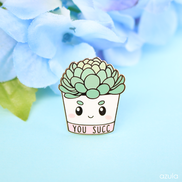 YOU SUCC ✦ ENAMEL PIN