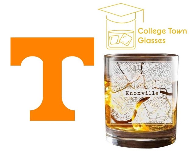 Knoxville College Town Glasses (Set of 2) 1