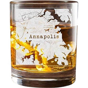 Annapolis College Town Glasses (Set of 2)