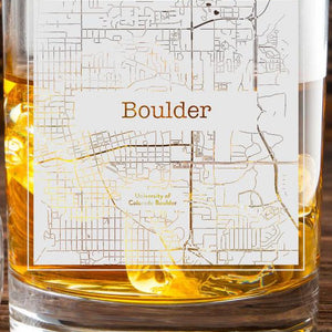 Boulder College Town Glasses (Set of 2)