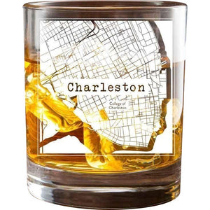 Charleston College Town Glasses (Set of 2)