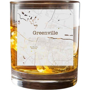 Greenville College Town Glasses (Set of 2)