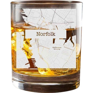 Norfolk College Town Glasses (Set of 2)