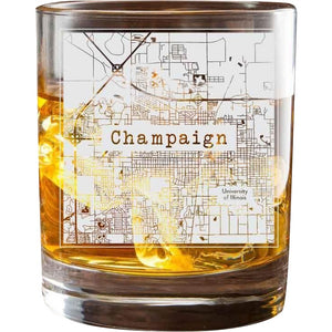 Champaign College Town Glasses (Set of 2)