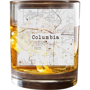 Columbia MO College Town Glasses (Set of 2)