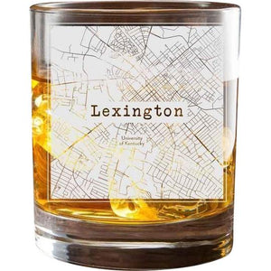 Lexington KY College Town Glasses (Set of 2)