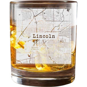 Lincoln College Town Glasses (Set of 2)