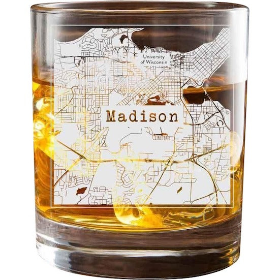 Madison College Town Glasses (Set of 2) 1