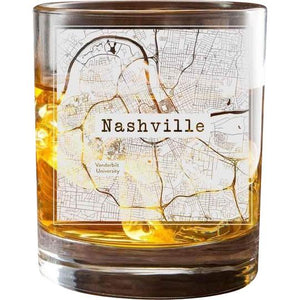 Nashville College Town Glasses (Set of 2)