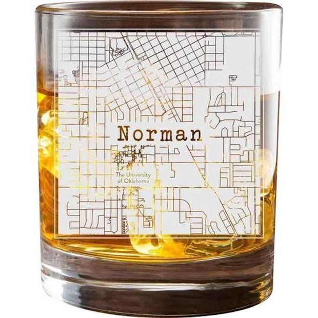 Norman College Town Glasses (Set of 2) 1