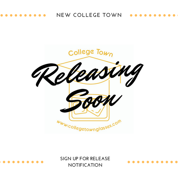 South Orange College Town Glasses (Set of 2) 1