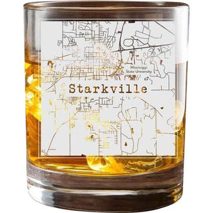 Starkville College Town Glasses (Set of 2)