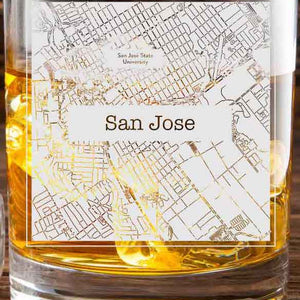 San Jose College Town Glasses (Set of 2)