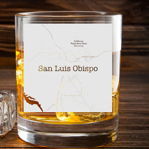 San Luis Obispo College Town Glasses (Set of 2)