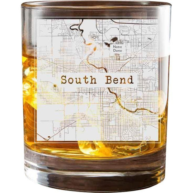 South Bend College Town Glasses (Set of 2) 1