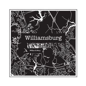 Williamsburg College Town Glasses (Set of 2)