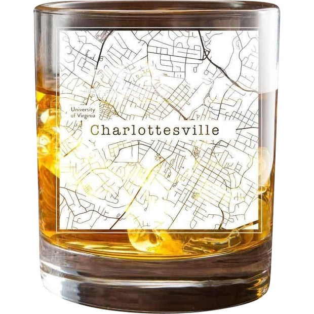 Charlottesville College Town Glasses (Set of 2) 1
