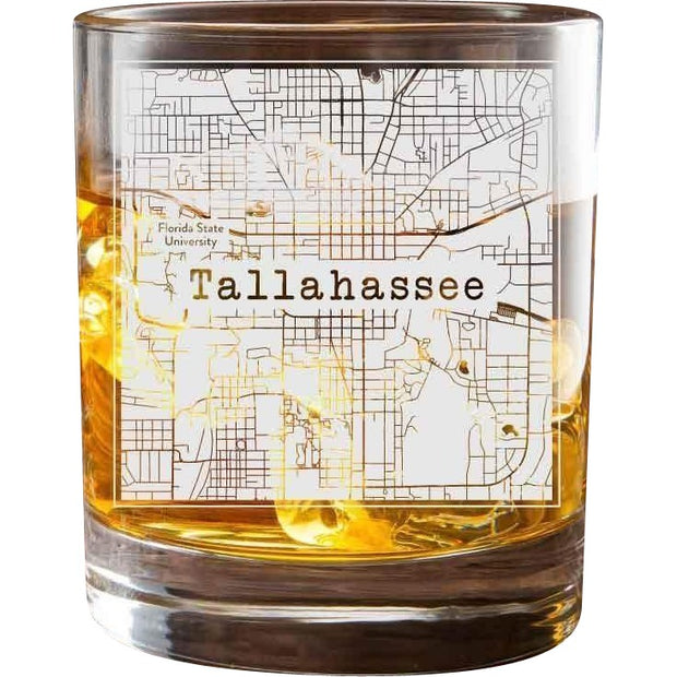 Tallahassee College Town Glasses (Set of 2) 1